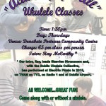 Poster Ukulele Classes